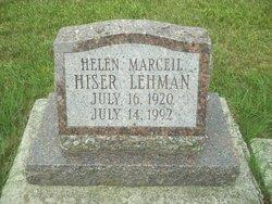 Helen Marceil <I>Hiser</I> Lehman