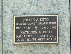 Joseph A Deto
