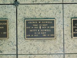 George W Bidwell