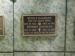 Ruth S Gausman