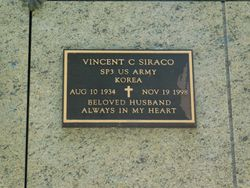 Vincent C Siraco