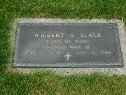 Wilbert Avery Slack