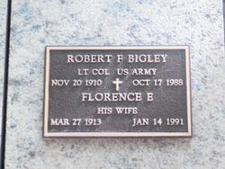 Robert F Bigley