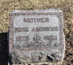 """Nancy Rosetta """"Rose"""" <I>Owens</I> Andrews"""