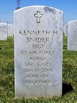SSGT Kenneth Howard Snider