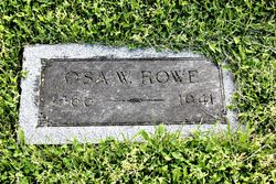 "Osa Wallace ""Doc"" Rowe"