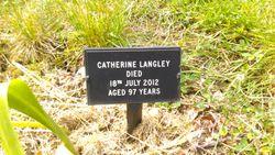 """Catherine """"Cath"""" <I>Yarrow</I> Langley"""