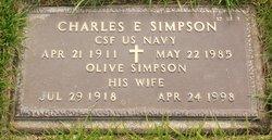 Olive <I>Heinig</I> Simpson