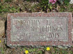 Dorothy J. <I>Jordan</I> Hutchings