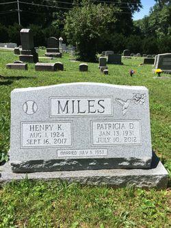 Patricia Carol <I>Duvall</I> Miles
