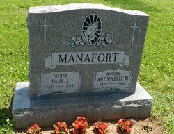 Antoinette Mary <I>Cifalu</I> Manafort