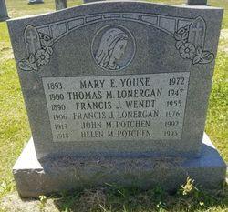 Mary Elizabeth <I>Lonergan</I> Youse