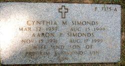 Cynthia Marie Simonds