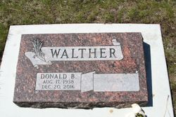 Donald Bruce Walther