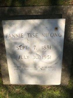 Fannie May <I>Tise</I> Nifong
