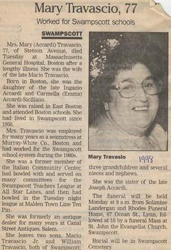 Mary Accardi Travascio (1921-1998) - Find A Grave Memorial