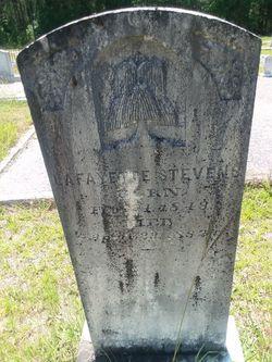 Pvt Lafayette Stevens