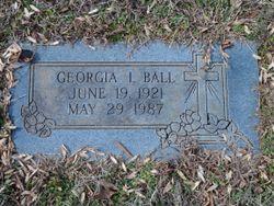 Georgia Inez <I>Chafin</I> Ball