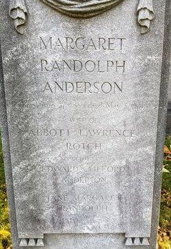 Margaret Randolph <I>Anderson</I> Rotch
