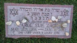 Carol Sue <I>Pailet</I> Zacks