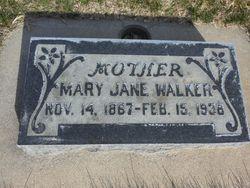 Mary Jane <I>Zabriskie</I> Walker