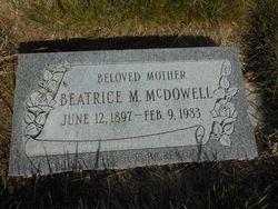Beatrice Maud Easton <I>Bell</I> McDowell