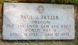 Paul Stephenson Fetzer
