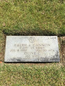 Olive C <I>Smith</I> Gannon
