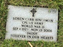 "Loren Carr ""Bing"" Bingaman"