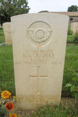Pvt Hugh Bernard Croghan