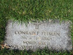 Conrad F Feiman