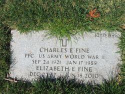 Charles E Fine