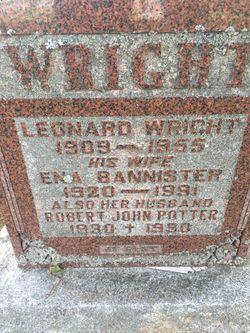 Ena <I>Bannister</I> Wright