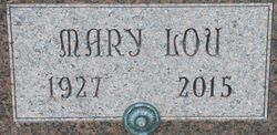 Mary Lou <I>Leach</I> Shull
