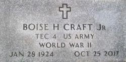 Boise Hirlinger Craft, Jr