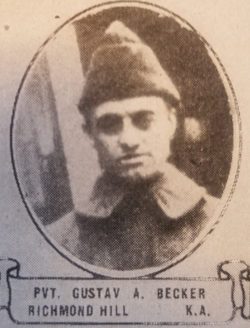 PVT Gustave Alexander Becker
