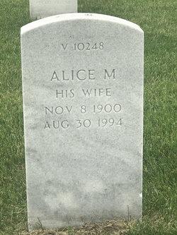 Alice M Dahlgren