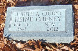 "Judith Ann ""Judy"" <I>Heine</I> Cheney"