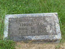 Faith Ervine Thompson