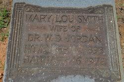 Mary Lou <I>Smith</I> Jordan