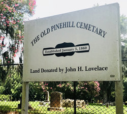 Old Pine Hill Cemetery