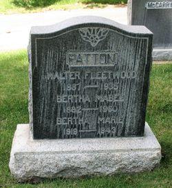 Walter Fleetwood Patton