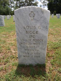 Louis G Bigge