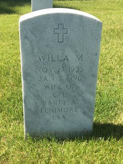 Willa M Fenimore