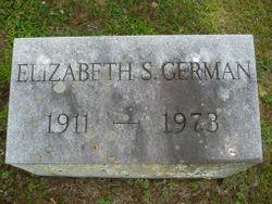 Elizabeth S German