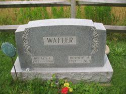 Dorothy May <I>Zurbrugg</I> Wafler
