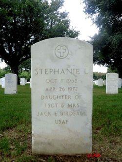 Stephanie L Birdsall