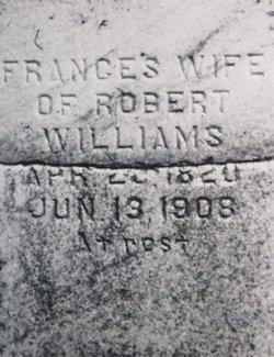 Frances <I>Harris</I> Williams