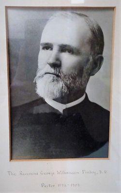 Rev George Williamson Finley