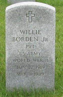 Willie Borden, Jr